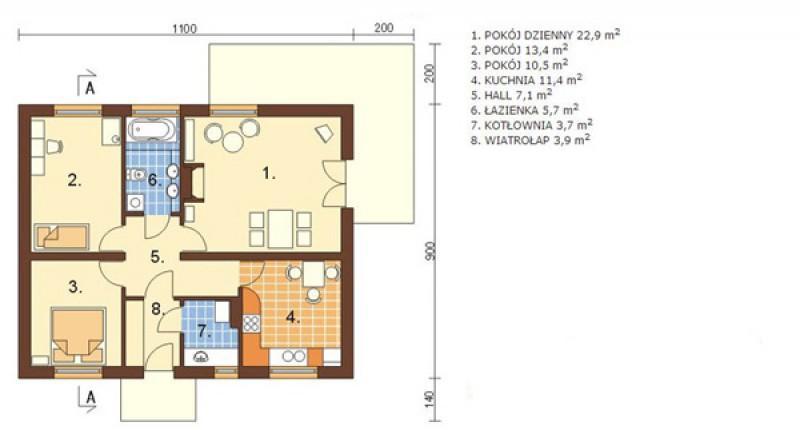 FRANUSIN - 89 m2