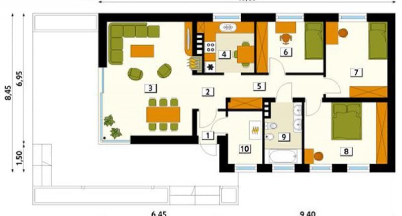 HEBAN - 120 m2