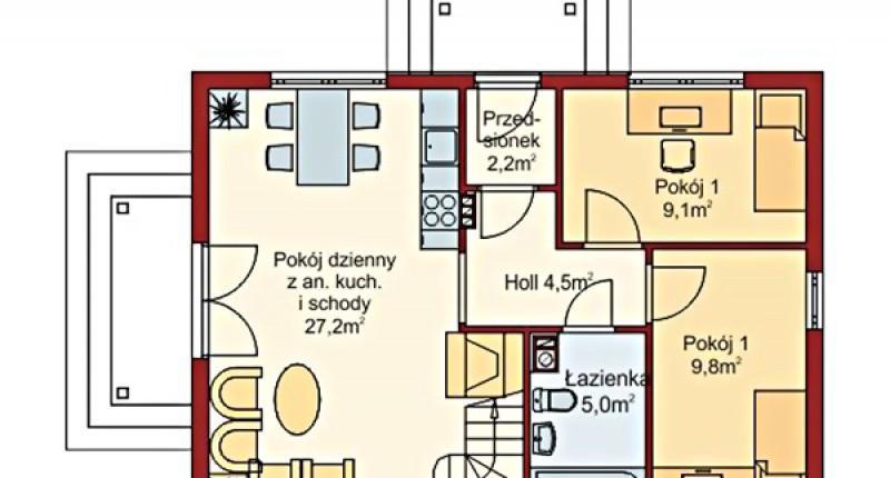 LIPOWY - 110 m2