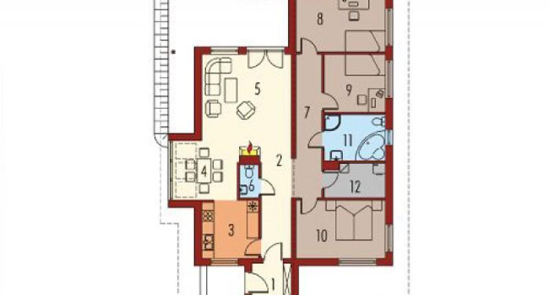 MIŁA - 120 m2