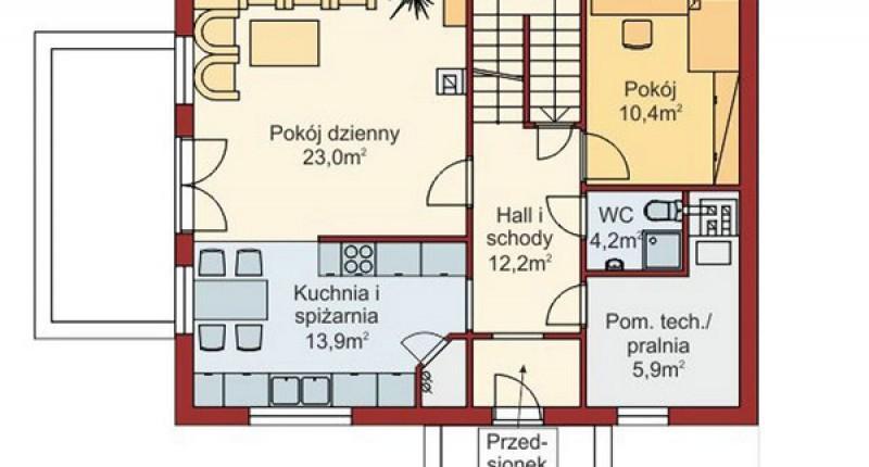 PROSTY - 140 m2